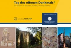 Tag des offenen Denkmals: das Programm 2021