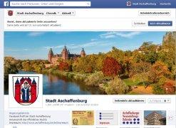 Facebook-Profil Stadt Aschaffenburg