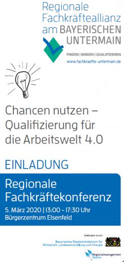 Regionale Fachkräftekonferenz 2020