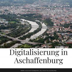 Blick auf Aschaffenburg
