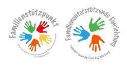 Logo Familienstützpunkt und Familienunterstützende Einrichtung