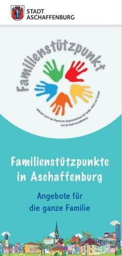Flyer Aschaffenburger Familienstützpunkte