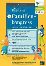 Plakat Digitaler Familienkongress