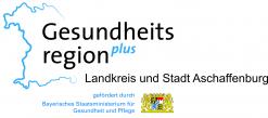 Logo GesundheitsregionPLUS Landkreis und Stadt Aschaffenburg