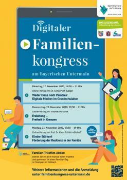 Plakat Familienkongress