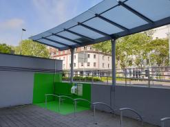 E-Bike-Ladestation an der City-Galerie