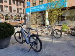 E-Bike-Ladestation am Hauptbahnhof