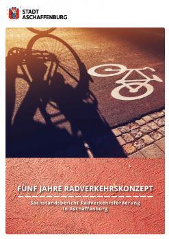 Titelbild des Sachstandsberichtes 5 Jahre Radverkehrskonzept