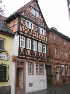 Fachwerkhaus in der Dalbergstraße