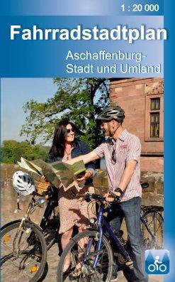 Fahrradstadtplan für Aschaffenburg und Umgebung