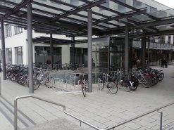 Neue Fahrradabstellmöglichkeiten am Dämmer Tor Carré