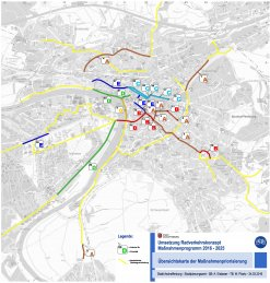 Karte Maßnahmenprogramm 2016-2025