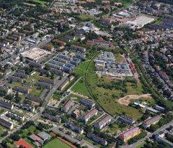Stadtentwicklung auf ehemaligem Kasernengelände Verlag Nürnberg Luftbild Hajo Dietz