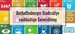 Logo der 1. nachhaltigen Aschaffenburger Stadtrallye