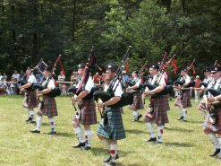 Highland Games in Perth