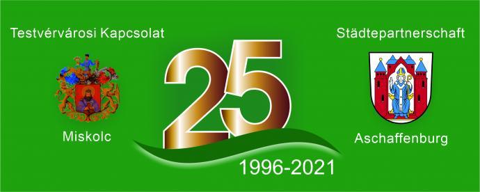 Logo 25 Jahre Städtepartnerschaft
