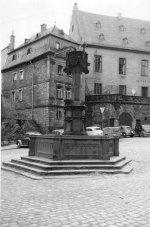 Zerstörter Stiftsbrunnen