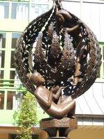 Der Brentanobrunnen, Nahaufnahme