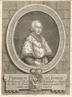 Bild, das Carl von Erthal zeigt.