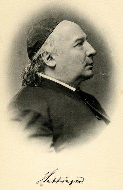 Bild, das Franz Leonhard Hettinger zeigt.