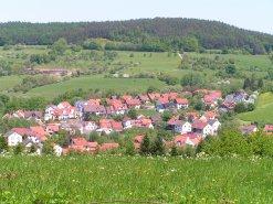 Blick auf Gailbach