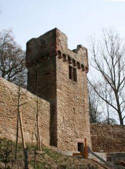 Ansicht des Gespensterturms