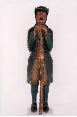 Bildnis der Statue des Maulaff
