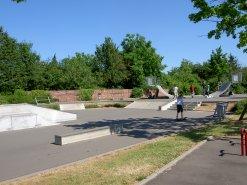 Bild der Skateranlage