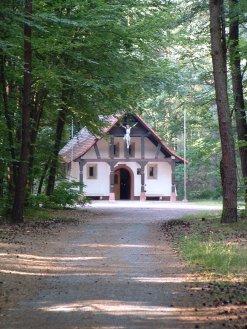 Blick auf die Kapelle Maria Frieden