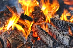 Bild eines Lagerfeuers