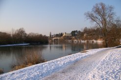 Mainufer im Winter