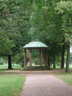 Blick in den Nilkheimer Park