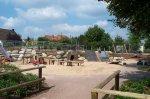 Sand-Matsch-Anlage auf dem Spielplatz Rüsterweg