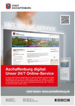 Aschaffenburg digital - Unser 24/7 Online-Service