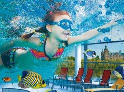 Kapalı yüzme havuzunun