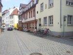 Fahrradabstellplatz in der Schlossgasse