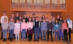 Die Preisträger und Preisträgerinnen der Städtischen Musikschule