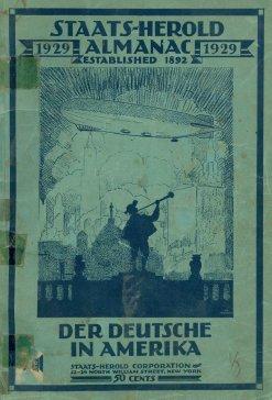 Staatd-Herold Almanac von 1929