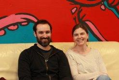 Sebastian Rüth und Melanie Forgas