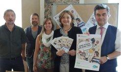 Am Dienstag wurde die Kampagne zum Jugendparlamentswahl im Rathaus vorgestellt.