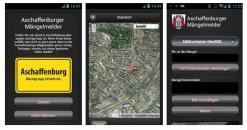 Mängelmelder-App der Stadt Aschaffenburg