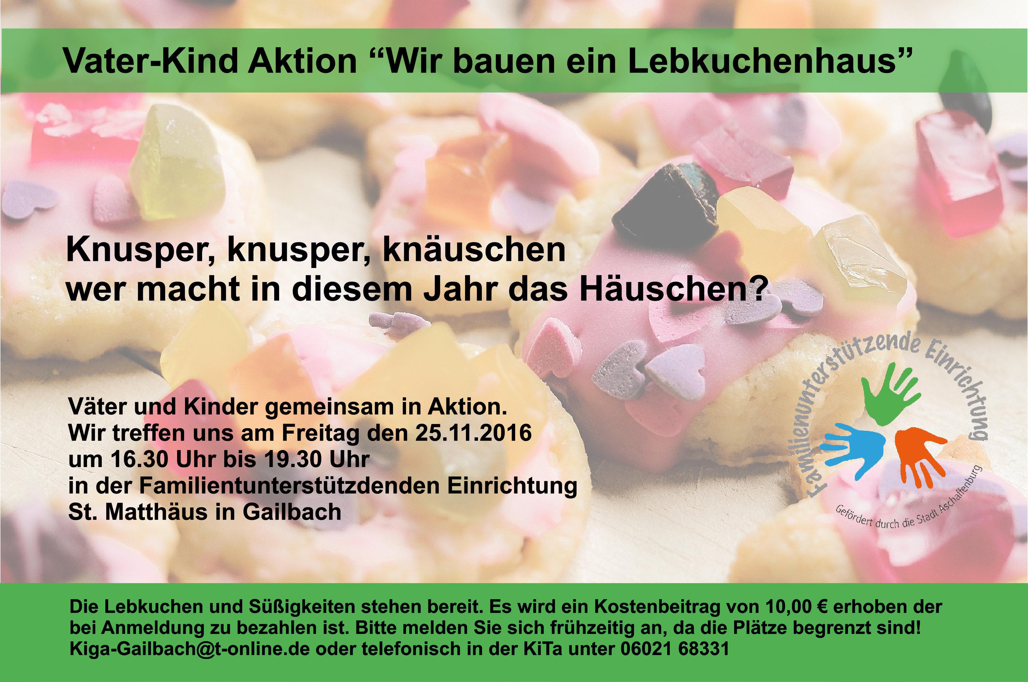 Plakat Lebkuchenhaus