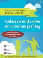 Broschüre mit Elternkursen in der Region Bayerischer Untermain erschienen