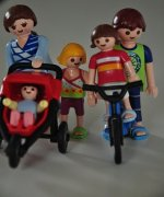 Playmobil-Familie