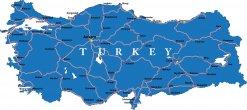 Karte Türkei