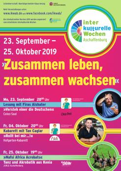 Plakat der Interkulturellen Wochen 2019