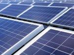 Foto von Solarzellen