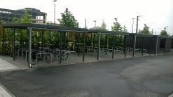 Neue Fahrradstellplätze am Hauptbahnhof Nord
