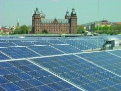 Photovoltaikanlage auf der Realschule