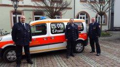 Elektroauto der Feuerwehr